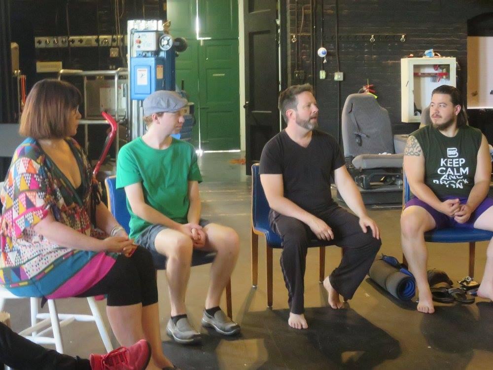 Alexander Technique Workshop - Hollins Playwright's Lab
