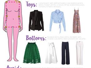 "Wardrobe Tips for the ""Rectangle"" Body Shape"