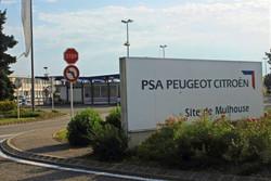 le site de Peugeot à Mulhouse