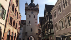 La tour de l'Horloge à Sélestat