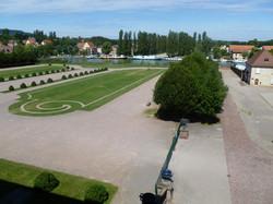 Jardin du château des Rohan