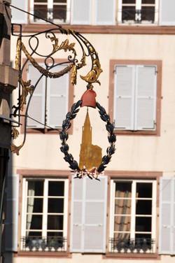 Trace du bonnet phrygien à Strasbourg