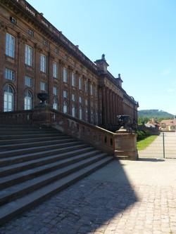 Escaliers du château des Rohan