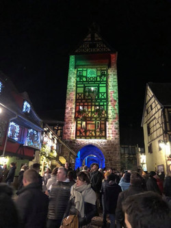 Les décorations de Noël à Riquewihr