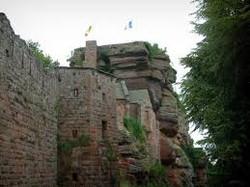 Les ruines du châtau du Haut-Barr