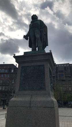 La statue de Kléber