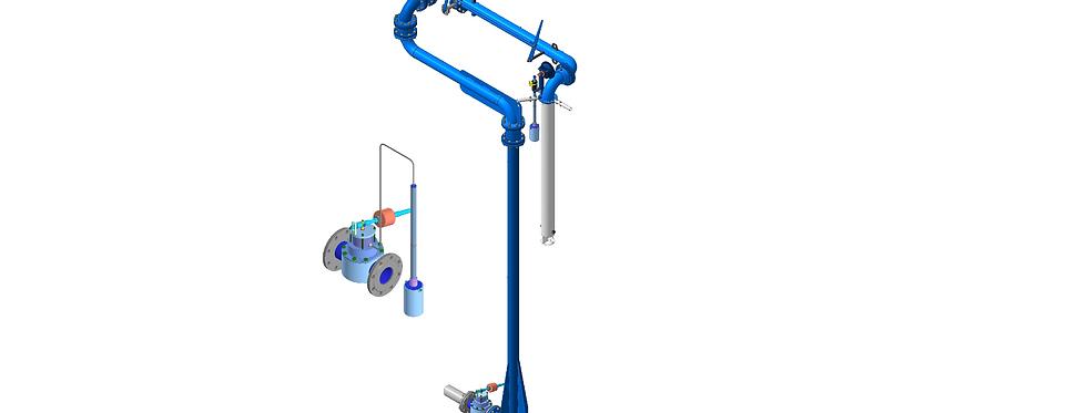 АСН-100 с автоматическим прекращением налива ДКП 80/1