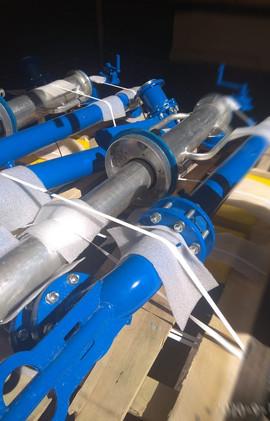Устройства верхнего налива типа УНЖ, мостики переходные типа МП