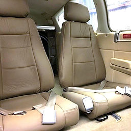 Gold Ridge Design specializes in aviation upholstery and interiors