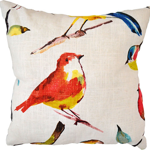 "18"" x 18"" Bird Throw Pillow"