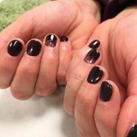 black gel manicure vegan salon swindon.j