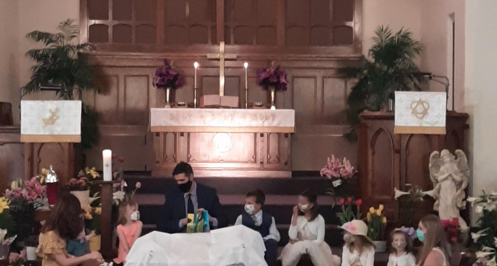 Children's Moment Easter 2020