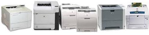 Desk top laser printers we service