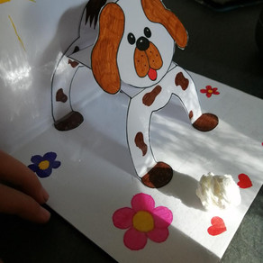 Activité créative - dog keeper
