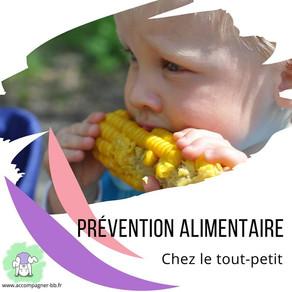 Prévention alimentaire chez le jeune enfant