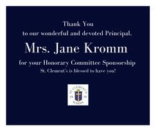 Mrs. Jane Kromm