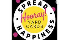 Hooray Yard Cards