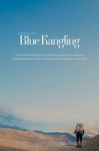 Blue Kangling Poster B