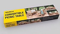 YellaWood, Convertible Picnic Table