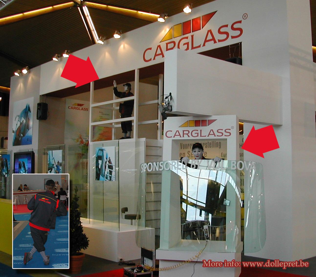 Busworld Carglass Mime
