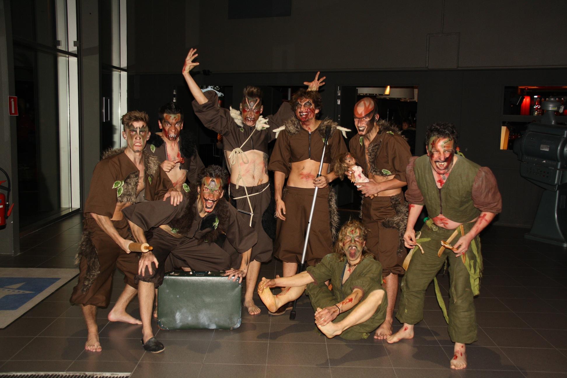 Kannibalen groep