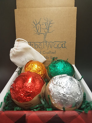 Bubbly and Bright Holiday Gift Crate