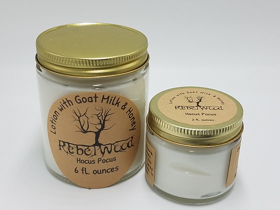 Hocus Pocus Scented Lotion with Goat Milk and Honey
