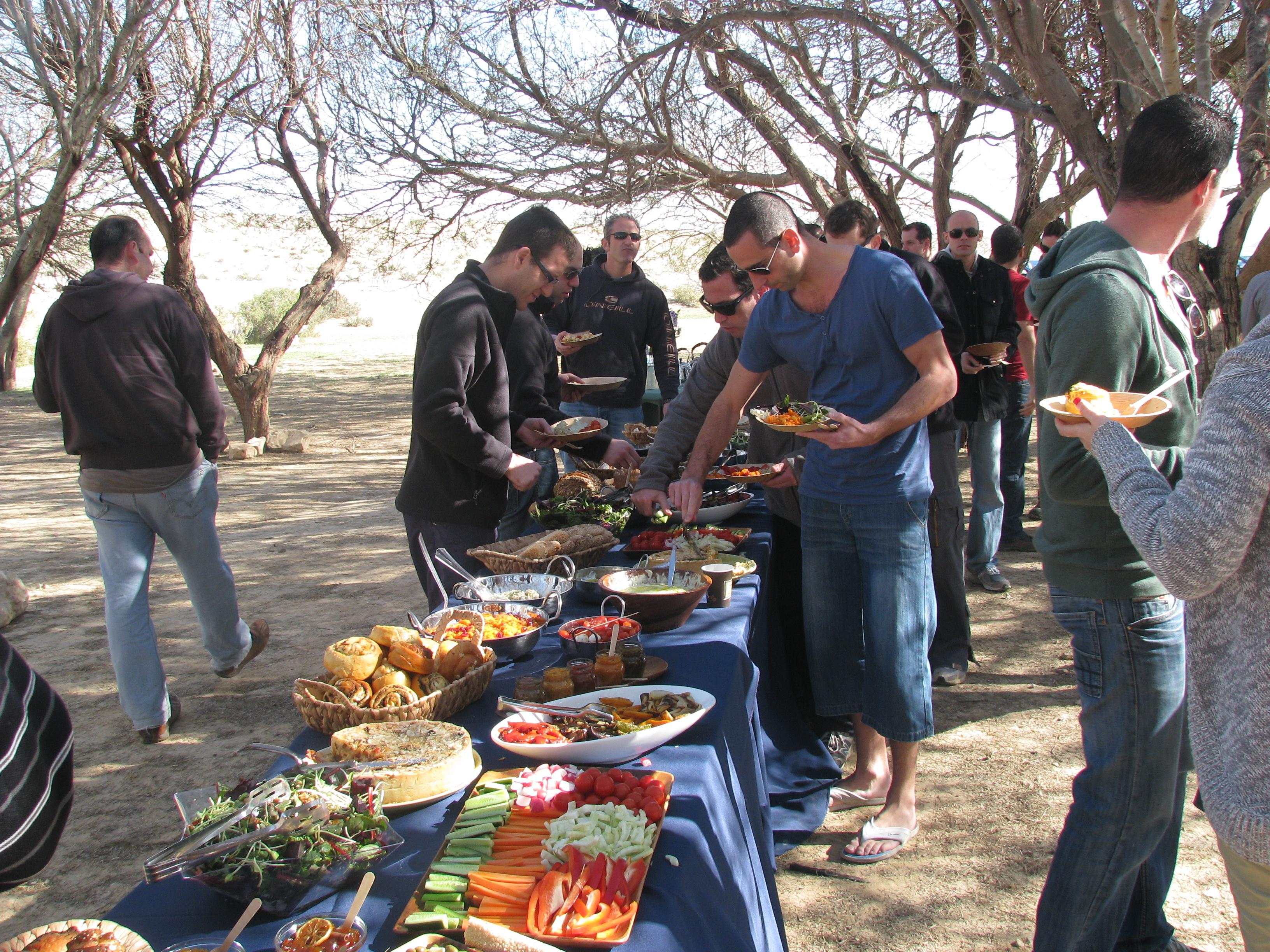 ארוחות שטח במדבר 2
