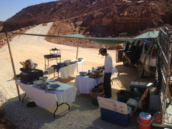 ארוחות שטח במדבר 3