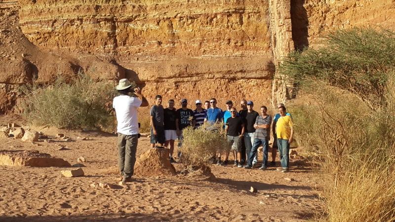 טיול צוות מגבש בנחל ארדון