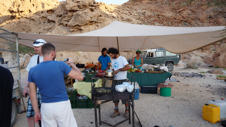 ארוחות שטח במדבר