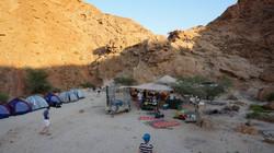 לינת שטח במדבר