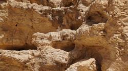 תצורת סלע גיר במכתש רמון