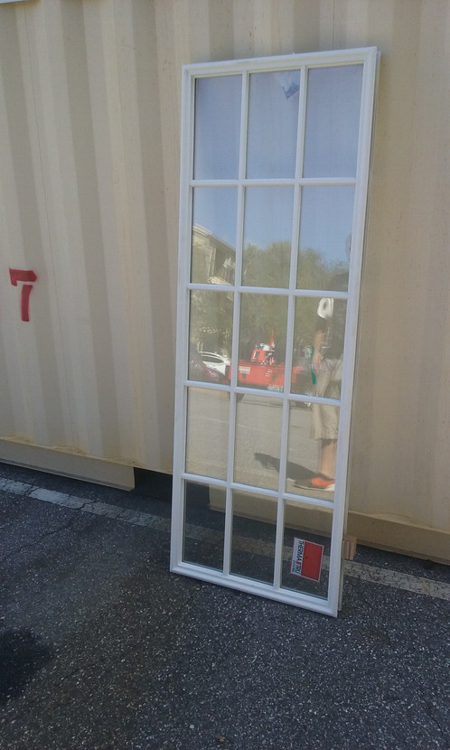 French Door Insulated Glass Insert Commercial