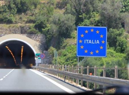 Европа. Временное восстановление пограничного контроля внутри Шенгена