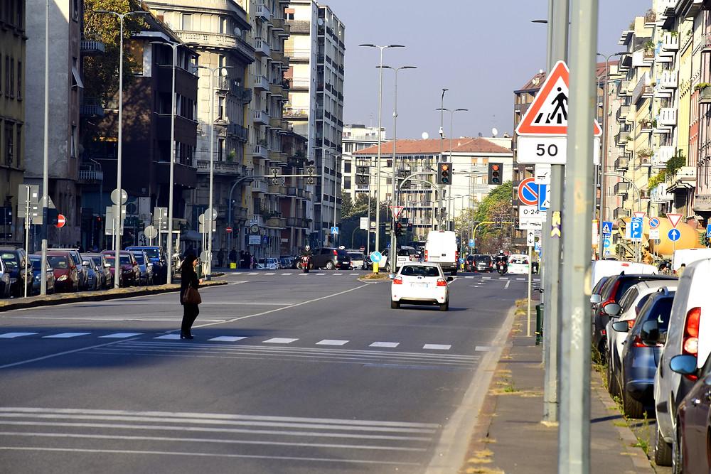 Авто, Милан. Жить в Италии