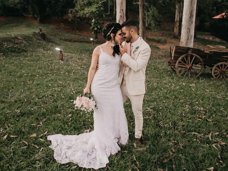 Casamento rústico na Capela - Keylla & Aníbal