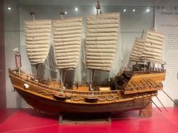 Display Model of Treasure Ship, Ming Dynasty (1368 - 1644)