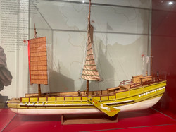 Display Model of a Ming and Qing Dynasty (1368 - 1911) shachuan