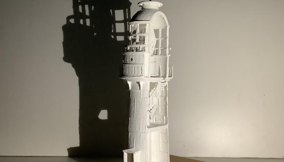 3D Model Cross Section of Waglan Island Lighthouse