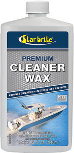 Starbrite - CLEANER/WAX-PREM ONE STEP 16OZ