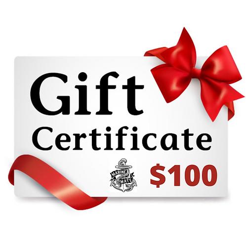 $100 Marine Mate Gift Certificate!