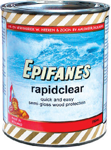 Epifanes - RAPID CLEAR SATIN WOOD FINISH