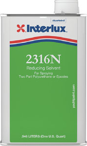 Interlux - Reducing Solvent For Spraying 2316N - Quart