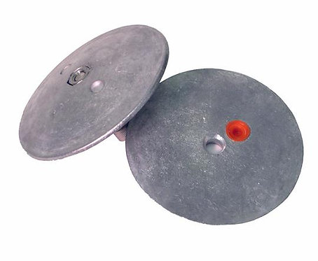 """Aluminum Anode 3-3/4"""" Rudder Zinc R3"""