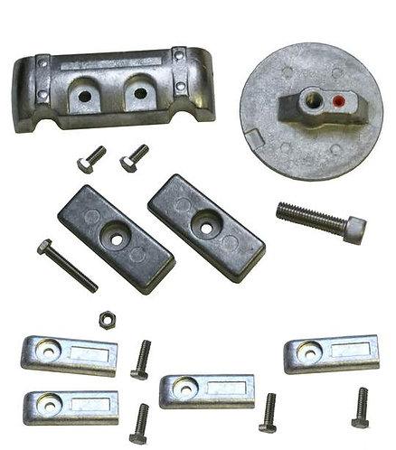 Aluminum Anode Kits For Mercury Verado 6 Cyl. Hardware Included.