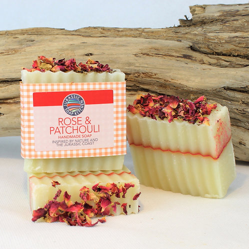 Rose and Patchouli Soap