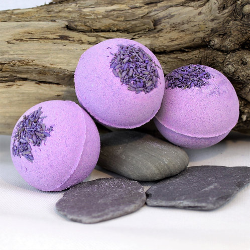 Lavender and Grapefruit Bath Bombs (pack of 3)