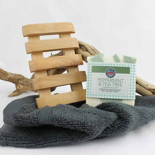 Soap, Flannel & Dish Gift Set