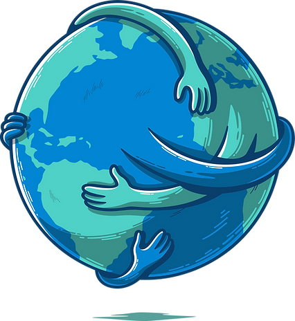 Hug the earth